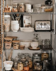 OMAR 1 section shelving unit, 36 OMAR shelf unit makes your pantry look like a professional kitchen. Kitchen Organization Pantry, Pantry Storage, Kitchen Pantry, Organizing Ideas For Kitchen, Kids Bathroom Organization, Medicine Organization, Organized Pantry, Organizing Labels, Pantry Ideas