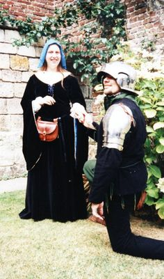 Black Medieval Dress by L.S. Day