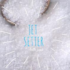 New to EnlightenedLotusByEC on Etsy: Jet Setter Bath Soak Bath Salts  All Natural Bath Soak (9.95 USD)
