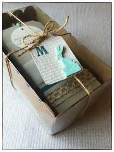 Recordatorios (en cajas de cupckaes de self packaging)