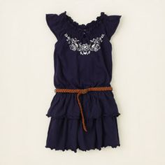 girl - dresses & rompers - embroidered peasant dress | Children's Clothing | Kids Clothes | The Children's Place