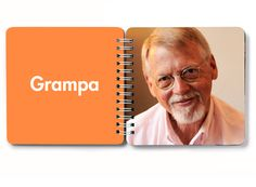 Board book of names and faces. Genius.