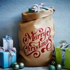 Santa Sacks - The Spenser Christmas Sack Non personalised, 80x53cm