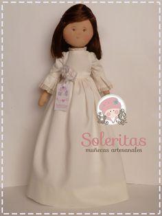 Soleritas Muñecas Artesanales: Muñecas de comunión personalizadas