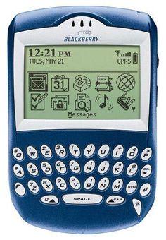 2003 - BlackBerry 7210 - Mentre l'Europa e il resto del mondo era regno di Nokia, gli Stati Uniti impazzivano per i BlackBerry, anzi i