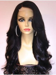 Wavy Black Fashion African American Wigs
