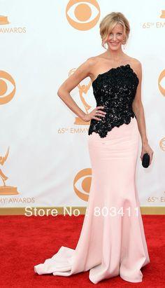 Gorgeous Mermaid Backless Anna Gunn The 65th Emmy Awards Carpet Celebrity Dresses