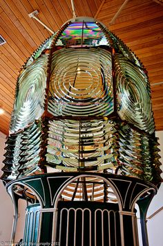 Ponce de Leon Inlet Lighthouse, Florida Fresnel Lens Exhibit.