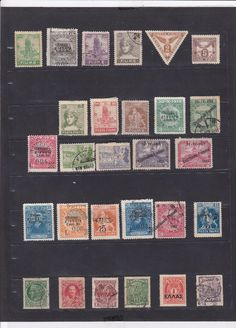 1004 Greece Epirus & Crete Used Stamps Very Great Stamps Selection