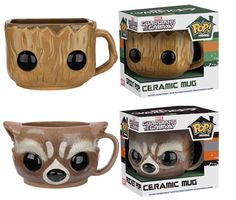 "These ""Guardians of the Galaxy"" mug are probably the cutest and most adorable mugs I've ever seen! I especially like the ""Groot"" one!  I am Mug!  -Groot"