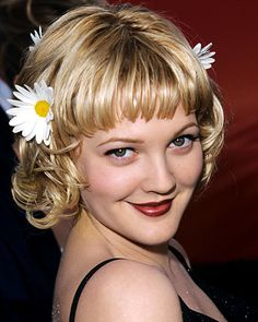 The Red Lip: An American Classic — Drew Barrymore