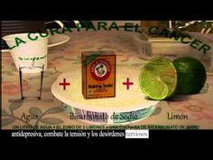 Bicarbonato de Sodio con Limón para el Cáncer! - YouTube