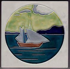 Jugendstil Fliese Kachel Art Nouveau Tile WIENERBERGER 1