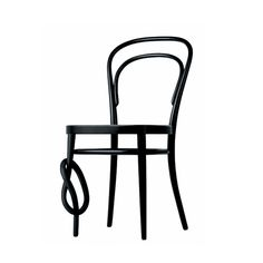 Thonet bentwood chair with a knot
