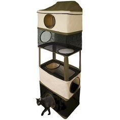 Cat Tower Hideout Cat Furniture