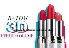 Tudo sobre Avon: Batom com efeito 3D!!