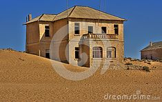 Photo about Kolmanskop ghost town in nAMIBIA. Image of home, abandoned, desert - 25560243 Ghost Towns, Stock Photos, Mansions, House Styles, Image, Home, Mansion Houses, Manor Houses, House