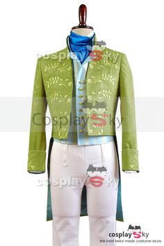 Cinderella 2015 Film Prince Charming Attire Outfit Cosplay Costume: $179.99 Reduced Price: $162.00