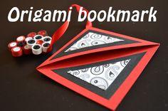 Origami Simple Corner Bookmark - Tutorial ( Segnalibro ) - Origami for b...