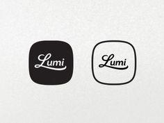 Lumi / #logo #typography #retro / Stéphan Angoulvant