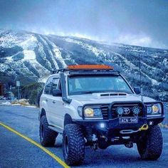 Nice setup! Owner?… 100 Series Landcruiser, Landcruiser 100, Toyota 4x4, Toyota Tundra, Best Off Road Vehicles, Toyota Land Cruiser 100, Lexus Lx470, Nissan Patrol, Off Road Adventure