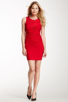 Soprano Draped Sleeveless Dress | Nordstrom Rack