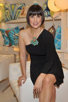 Trina Turk.....the  LA -based designer opened her first specialty boutique in Palm Springs in 2002 and has since expanded to 7 specialty stores with the newest opening in Dallas's Highland Park Village