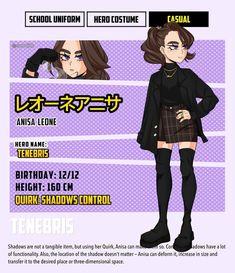 Fan Anime, Anime Oc, Hero Costumes, Superhero Design, Boku No Hero Academia, Mini Muffins, Wattpad, Characters, Instagram