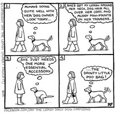 The Dog Owner Look - Off the Leash by Rupert Fawcett