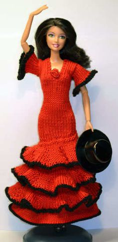 1000+ images about Knit-Barbie Clothes on Pinterest ...
