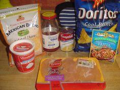 Cool Ranch Doritos Chicken Casserole Ingredients