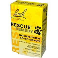 Bach Flower Essences Rescue Remedy Pet 10 ml *** You can find out more details at the link of the image.