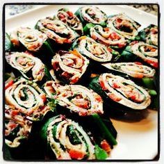 Delicious Yet Nutritious: Collard Green Pinwheels
