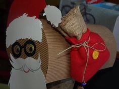 καρυδότσουφλο : Το γραμματοκιβώτιο του άγιου Βασίλη! Gift Wrapping, Christmas, Blog, Gifts, Paper Wrapping, Navidad, Presents, Wrapping Gifts, Weihnachten