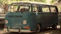 Slammed Bay Window Bus VW