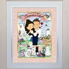 We couldn't resist designing this Mr&Mrs Toon in celebration of our most stylish celeb and her new hubby