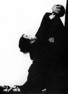Anita Berber and Sebastian Droste, by Madame d'Ora Cabaret, Vintage Photographs, Vintage Photos, 1920s Photos, Anita Berber, La Danse Macabre, Leni Riefenstahl, Street Dance, Portraits