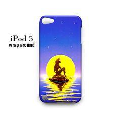 Little Mermaid iPod Touch 5 Case Wrap Around