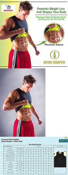 Other Womens Fitness Clothing 13360: 2 Redu Shaper Man X-Large, Xtreme Power Belt, Osmotic, Tecnomed, Redushaper BUY IT NOW ONLY: $38.95