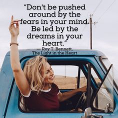 What is driving you? Your fears or your dreams? Leave us an 👍 or 👎⠀ ⠀ If fear is consuming you, it's time for change!⠀ Self Discovery Quotes, Time For Change, Change Quotes, In The Heart, Counseling, Health And Wellness, Dreaming Of You, Improve Yourself, Coaching