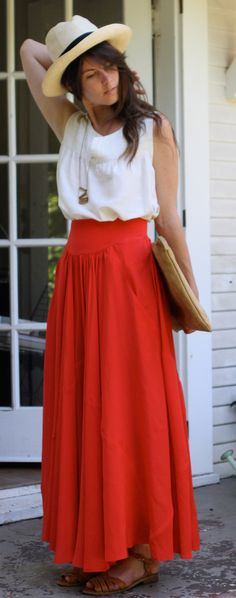 Maxi Skirt & Top