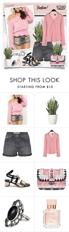 """""""Yoins184"""" by sneky ❤ liked on Polyvore featuring PLANT, Calvin Klein Jeans, Valentino and Maison Francis Kurkdjian"""