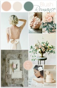 Blush Wedding Inspiration Today's color board wraps up my series on soft, neutral color palettes! I have always been a fan of blush weddings, so this light and airy color palette may be my favorite from the series. It is romantic and feminine and perfect for any time of the year! Photo Credits Blush Wedding Dress: Photo …