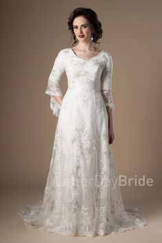 9051f4161f9e Cressida in 2019 | My wedding | Wedding dresses, Wedding dresses lds ...