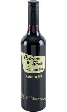 Outdoor Wino Rambling Red