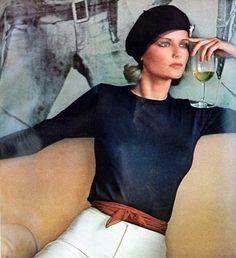Photo by Arthur Elgort. Vogue 1975