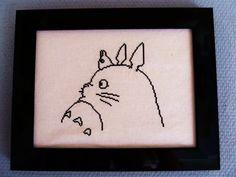 Totoro cross stitch.