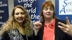 Tracy Repchuk and Tanya Hoffman on the Business Online Mastery event