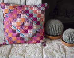 Scrappy Tripalong Tassel Floor Pillow