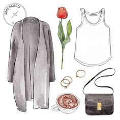 Good objects - Mother's day is coming …. #goodobjects #illustration #watercolor